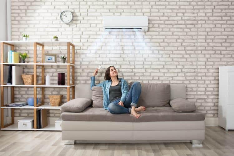 condizionatore per riscaldamento