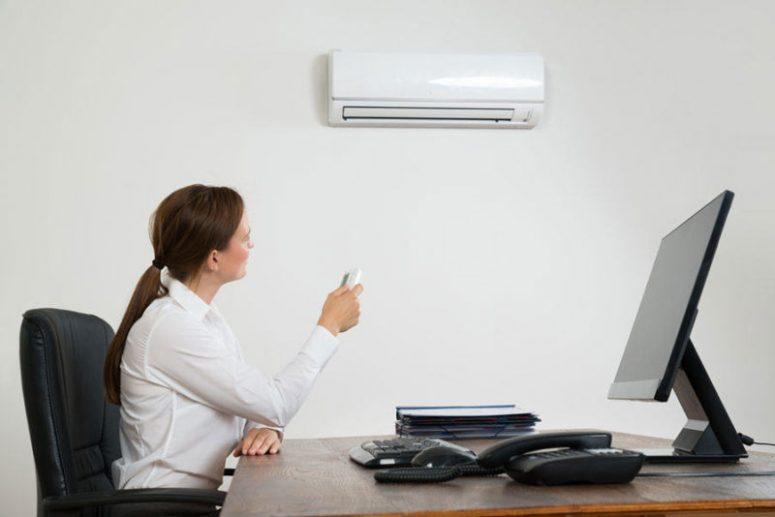 Condizionatori, la temperatura ideale in ufficio